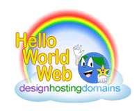 Hello World Web Design, Hosting and Domains